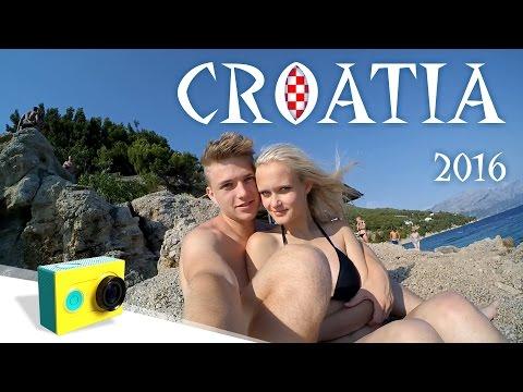 Croatia 2016 | Xiaomi YI | FullHD | 60FPS | 🇭🇷 🌊 🏖️ 💑