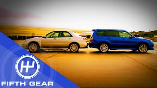 Fifth Gear: Subaru Impreza vs. Subaru Forester