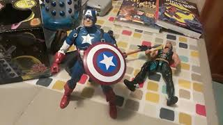 Alex Reviews Marvel Legends Namor, Black Panther and Captain America