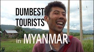 THE DUMBEST TOURISTS! (Los turistas mas TONTOS)