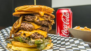 Top Gun Burgers is where Toronto goes for stacked cheeseburgers