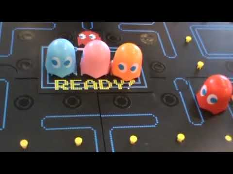 Pac-Man Board Game (2019) Playthrough