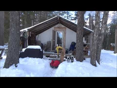 THE TENT. Winter Trip 2018.