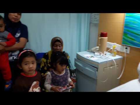 Melawat Hariz Di Colombia Hospital
