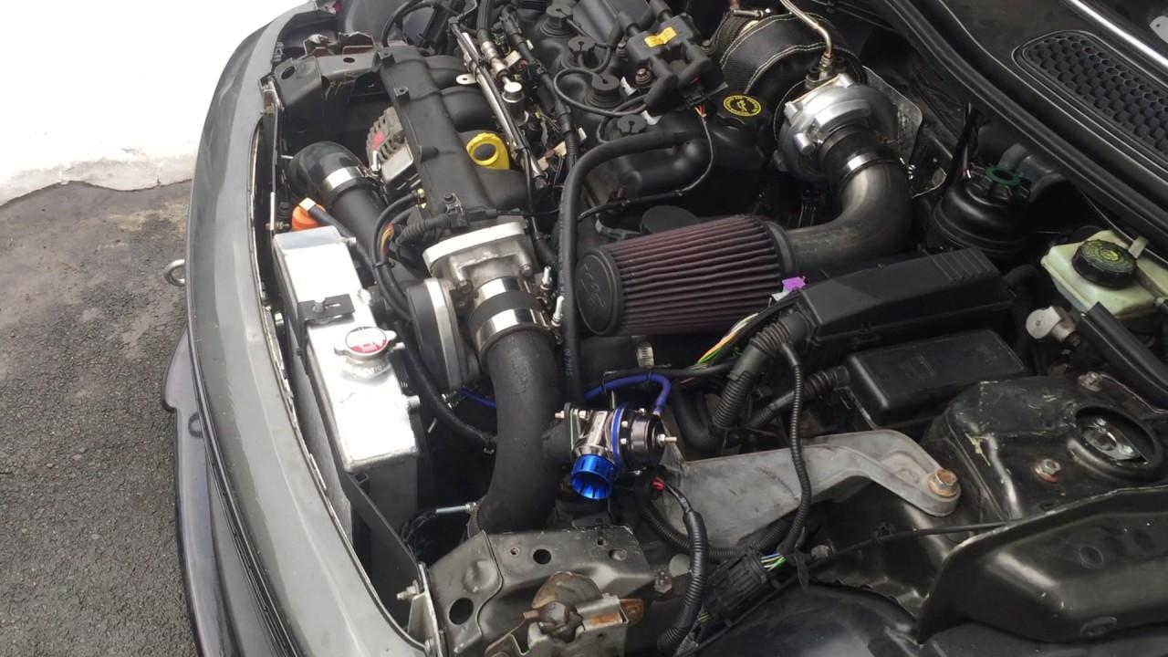 Warm Up Of R53 Mini Cooper Turbo Conversion