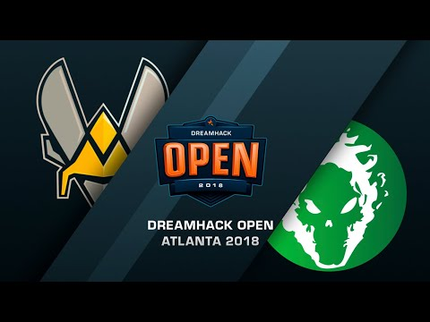 Vitality vs Fragsters - DreamHack Open Atlanta 2018 - Map 1