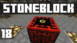 StoneBlock - Ep. 18: CREATIVE FLIGHT! (Modded Minecraft 1.12.2)