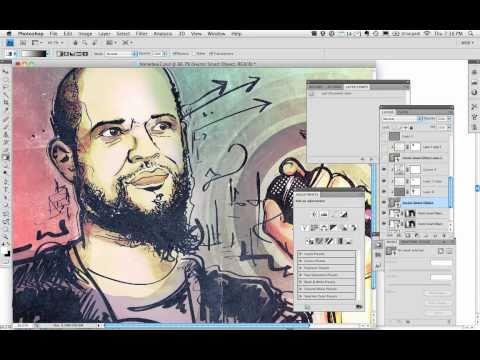 Sketchbooked Illustration of Homeboy Sandman