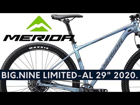 "MERIDA BIG.NINE LIMITEDAL 29"" 2020. Black MTB MERIDA Monster  Live bike review"