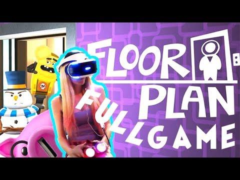 Floor Plan Psvr Gameplay Ps4 Vr Full Game Walkthrough Youtube
