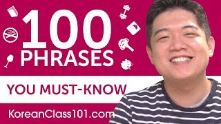 100 Phrases Every Korean Beginner Must-Know