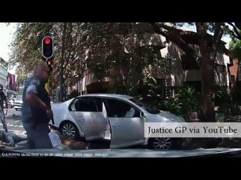 High-speed police chase in Johannesburg