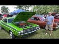 1971 Dodge Challenger - Gears and Ears Car Show - Midwest Street Rod Association - 4K