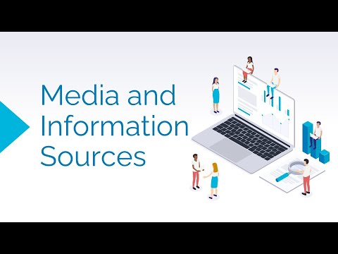 Media and Information Literacy Lesson 5: Media and Information Sources