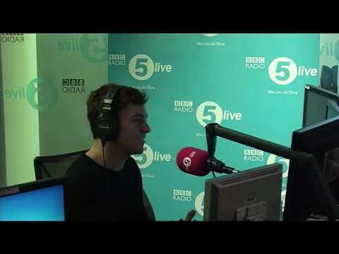 Tom Daley on BBC 5 live