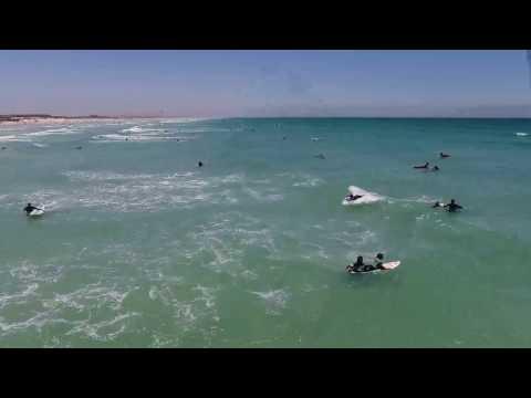 Cape Town Drone - Muizenberg  Surfers Beach (Phantom 4)
