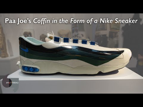 Paa Joe's Coffin in the Form of a Nike Sneaker
