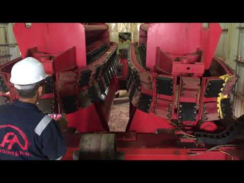 SAS Vertical Tensioner for pipe lay barge