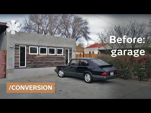 Converted Garage As Income-earning Small Home In Exurban LA
