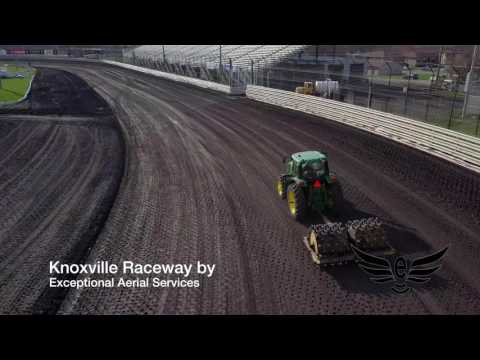 Knoxville Raceway Track Prep 4K