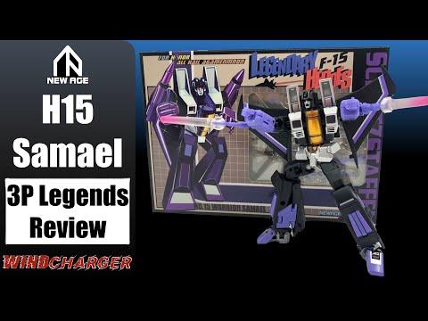 Transformers Legends Review: NewAge H15 Samael (not) Skywarp
