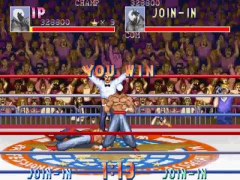 Saturday Night Slam Masters [Arcade] - Scorpion in Single Match mode