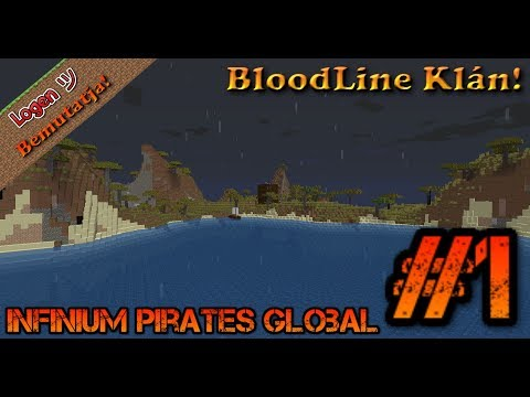 Infinium Pirates Global #1 A legjobb Survival Szerver a világon!