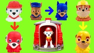 Paw Patrol Marshall's Magical Pup House Changes Pups into Super Pups!