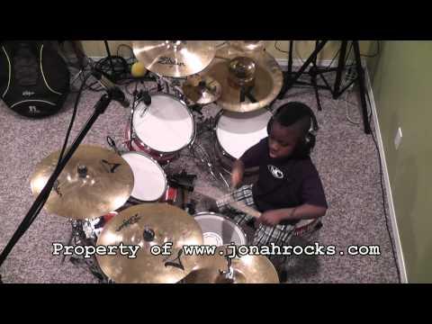 Nickelback - Animals, 6 Year Old Drummer, Jonah Rocks