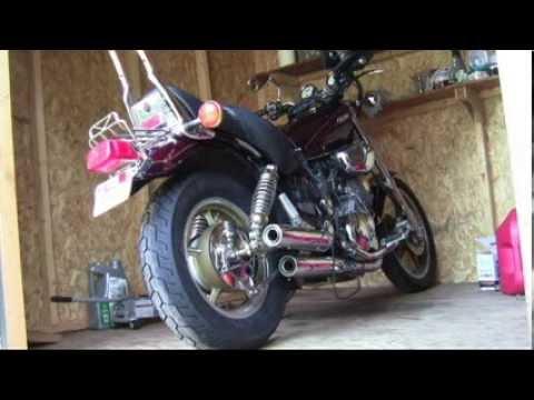 Yamaha Virago 1100 rear wheel removal*