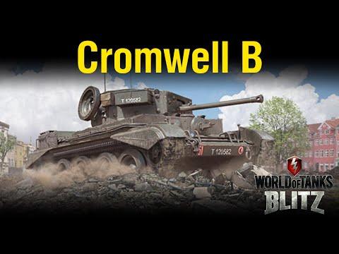 Обзор Cromwell B [WoT Blitz 6.10]