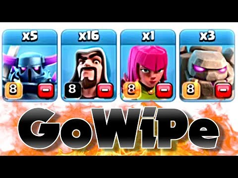 GoWiPe for 3 Stars | Clash of Clans