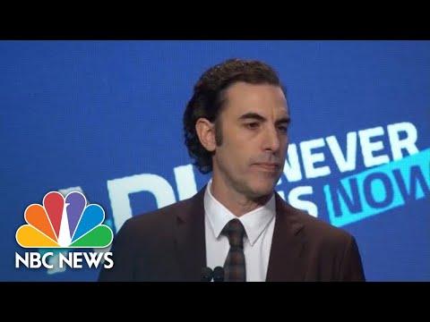 Sacha Baron Cohen Slams Social Media Companies: 'Your Product Is Defective' | NBC News