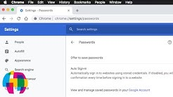 Chrome Not Asking to Save Passwords Fix (macOS / Windows / iOS / Android)
