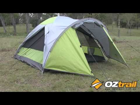 OZtrail Crossbreeze Tent Range & OZtrail Crossbreeze Tent Range - YouTube