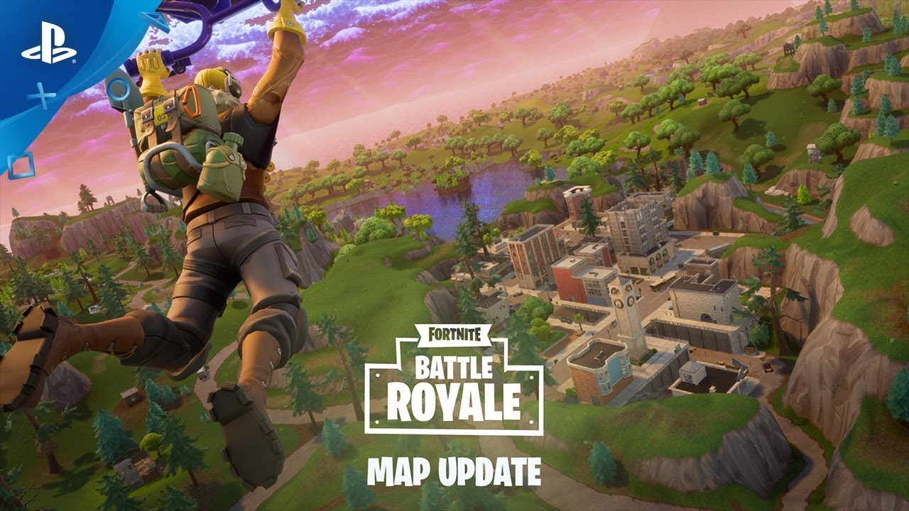 Fortnite Battle Royale Map Update Ps