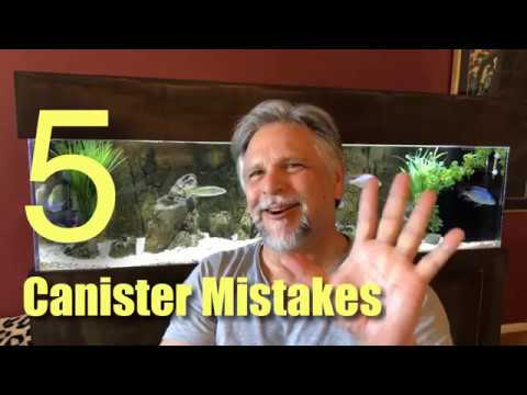 Top 5 Common Canister Filter Mistakes - These Kill Performance (and Cause Floods!)