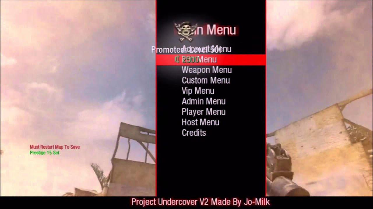 how to get mods for bo1 ps3