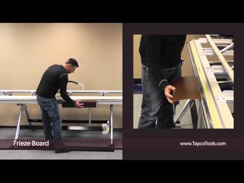 Bending Frieze Board