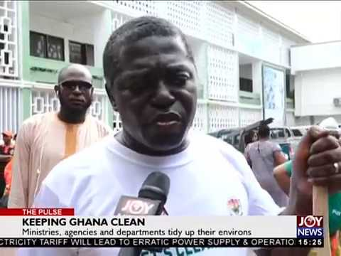Keep Ghana Clean - The Pulse on JoyNews (16-3-18)