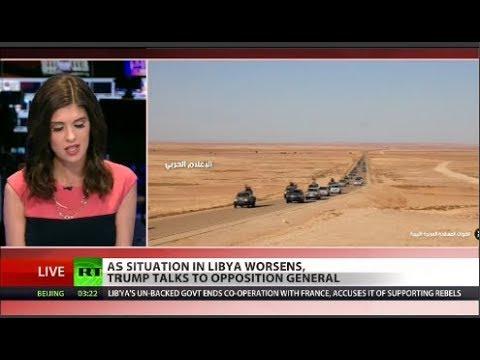 Bizarre: Trump calls mysterious Libyan warlord