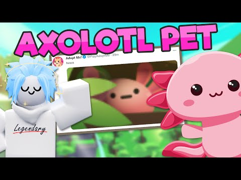 NEW AXOLOTL PET UPDATE 🐾 Plus SUMMER SALE and DOUBLE WEEKEND 🌴 Adopt Me News (Roblox)