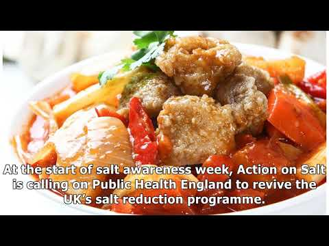 Calls for warnings on 'astonishingly salty' Chinese food