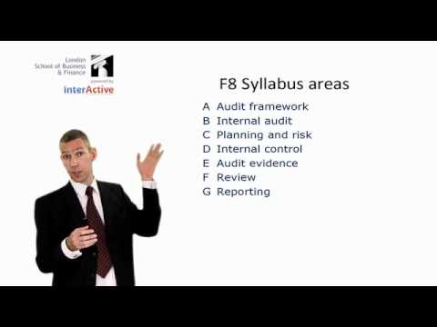 LSBF ACCA F8: Introduction to the Paper Part 1