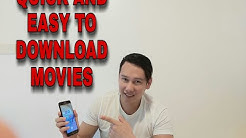 How to Download Videos or Movies using Android Phones (Tagalog)