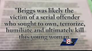 Profilers say Briggs murder was serial killer, not Anthony Sanborn