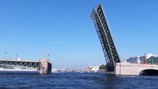 Boat Trip in St Petersburg, Russia