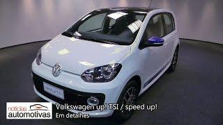 Volkswagen up! TSI e speed up! - Detalhes - NoticiasAutomotivas.com.br