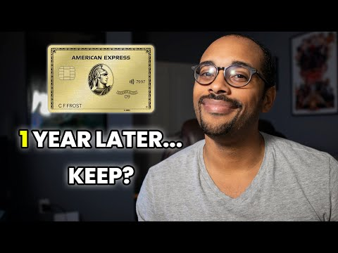 AmEx Gold Card One Year Review - Worth Keeping Or Cancel?