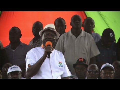 Kenya's Odinga calls for suspension of October election re-run